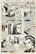 Original Comic Art:Panel Pages, Dick Giordano Wonder Woman #220 Page 3 Original Art (DC,1975)....