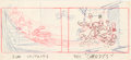 Animation Art:Production Drawing, Lonesome Ghosts Animation Drawing (Walt Disney, 1937)....