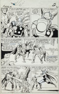 Original Comic Art:Panel Pages, Jack Kirby and Dick Ayers Avengers #16 Page 2 Original Art(Marvel, 1965)....