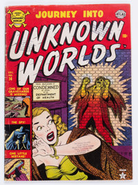 Journey Into Unknown Worlds #14 (Atlas, 1952) Condition: VG
