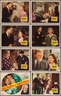 """Movie Posters:Drama, Life Begins at Eight-Thirty (20th Century Fox, 1942). Lobby Card Set of 8 (11"""" X 14""""). Drama.. ... (Total: 8 Items)"""