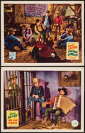 """Movie Posters:Western, The Old Corral & Other Lot (Republic, 1936). Lobby Cards (2) (11"""" X 14""""). Western.. ... (Total: 2 Items)"""