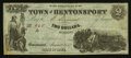 Obsoletes By State:Iowa, Bentonsport, IA- The Town of Bentonsport $2 Aug., 1857 Oakes 8-2. ...