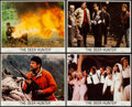 "Movie Posters:Drama, The Deer Hunter (Universal, 1978). Mini Lobby Card Set of 4 (8"" X 10""). Drama.. ... (Total: 4 Items)"