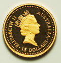 Australia, Australia: Elizabeth II gold Proof Nugget Set 1987,... (Total: 4 coins)
