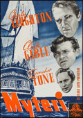 "Movie Posters:Academy Award Winners, Mutiny on the Bounty (MGM, 1935). Swedish One Sheet (27.25"" X39.25""). Academy Award Winners.. ..."