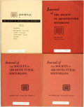 Books:Periodicals, [Architecture]. Four Issues of the Journal of the Society ofArchitectural Historians. Society of Architectural Historians, ...