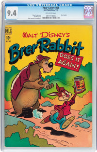 Four Color #208 Brer Rabbit (Dell, 1949) CGC NM 9.4 Off-white pages