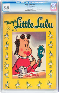 Four Color #158 Little Lulu (Dell, 1947) CGC VF+ 8.5 Off-white pages
