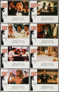 "Movie Posters:Crime, Scarface (Universal, 1983). Lobby Card Set of 8 (11"" X 14"").Crime.. ... (Total: 8 Items)"