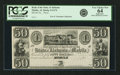 Mobile, AL - Branch of the State of Alabama at Mobile $50 18__ AL-5 G174 Rosene 4-12. Proof. PCGS Very Choice New 64 App...