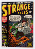 Golden Age (1938-1955):Horror, Strange Tales #12 (Atlas, 1952) Condition: GD....
