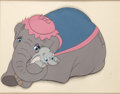 Animation Art:Production Cel, Dumbo Dumbo and Mrs. Jumbo Publicity/Model Cel (Walt Disney, 1940s-50s)....