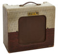 Musical Instruments:Amplifiers, PA, & Effects, Circa 1958 Guild Masteramp Two-Tone Guitar Amplifier....