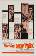 """Movie Posters:Documentary, Only One New York & Other Lot (Embassy, 1964). One Sheets (2) (27"""" X 41""""). Documentary.. ... (Total: 2 Items)"""
