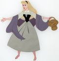 Animation Art:Production Cel, Sleeping Beauty Briar Rose Production Cel (Walt Disney,1959)....