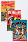 Golden Age (1938-1955):Miscellaneous, Golden Age Baseball Related Comics Group (Various Publishers, 1950-52) Condition: Average VG.... (Total: 6 Comic Books)