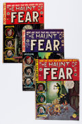 Golden Age (1938-1955):Horror, Haunt of Fear Group (EC, 1951-54).... (Total: 4 Comic Books)