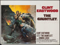 "Movie Posters:Action, The Gauntlet (Warner Brothers, 1977). British Quad (30"" X 40"").Action.. ..."