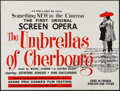 "Movie Posters:Foreign, The Umbrellas of Cherbourg (Roissy Films, 1964). British Quad (30"" X 40""). Foreign.. ..."