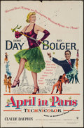 "Movie Posters:Musical, April in Paris (Warner Brothers, 1952). One Sheet (27"" X 41""). Musical.. ..."