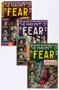 Golden Age (1938-1955):Horror, Haunt of Fear #18, 19, and 26 Group (EC, 1953-54) Condition:Average VG+.... (Total: 3 Comic Books)