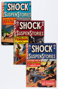 Golden Age (1938-1955):Horror, Shock SuspenStories Group (EC, 1953-54) Condition: Average VG....(Total: 6 Comic Books)