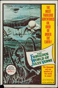"""Movie Posters:Fantasy, The Fabulous World of Jules Verne (Warner Brothers, 1961). One Sheet (27"""" X 41""""). Fantasy.. ..."""