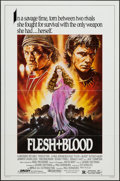 "Movie Posters:Adventure, Flesh + Blood (Orion, 1985). One Sheet (27"" X 41""). Adventure.. ..."