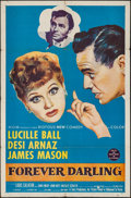 """Movie Posters:Comedy, Forever Darling (MGM, 1956). One Sheet (27"""" X 41""""). Comedy.. ..."""