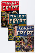 Golden Age (1938-1955):Horror, Tales From the Crypt Group (EC, 1952-55).... (Total: 7 Comic Books)