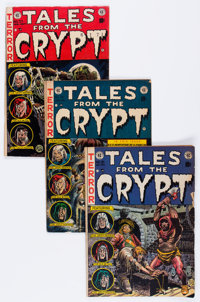 Tales From the Crypt Group (EC, 1952-55).... (Total: 7 Comic Books)