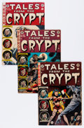 Golden Age (1938-1955):Horror, Tales From the Crypt Group (EC, 1953-54) Condition: Average VG....(Total: 3 Comic Books)