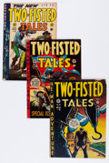 Golden Age (1938-1955):War, Two-Fisted Tales Group (EC, 1950-55).... (Total: 5 Comic Books)