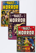 Golden Age (1938-1955):Horror, Vault of Horror Group (EC, 1952-55) Condition: Average VG-....(Total: 9 Comic Books)