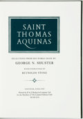 Books:Religion & Theology, Reynolds Stone, illustrator. SIGNED/LIMITED. Thomas Aquinas. Saint Thomas Aquinas: Selections from His Works... Chat...