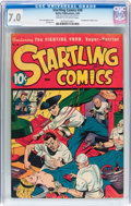 Golden Age (1938-1955):Superhero, Startling Comics #38 (Better Publications, 1946) CGC FN/VF 7.0 Cream to off-white pages....