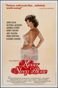 """Movie Posters:Adult, Never Sleep Alone & Other (Kemal Enterprises, 1983). One Sheets (2) (27"""" X 41""""). Adult.. ... (Total: 2 Items)"""