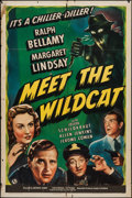 """Movie Posters:Mystery, Meet the Wildcat (Universal, 1940). One Sheet (27"""" X 41"""").Mystery.. ..."""