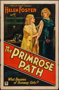 "Movie Posters:Exploitation, The Primrose Path (Hollywood Pictures, 1931). One Sheet (27"" X 41"")Style A. Exploitation.. ..."