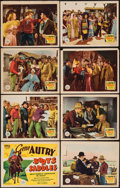 """Movie Posters:Western, Boots and Saddles (Republic, 1937). Lobby Card Set of 8 (11"""" X 14""""). Western.. ... (Total: 8 Items)"""