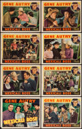 "Movie Posters:Western, Mexicali Rose (Republic, 1939). Lobby Card Set of 8 (11"" X 14"").Western.. ... (Total: 8 Items)"