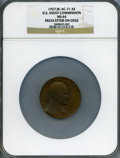 Assay Medals, 1927 U.S. Assay Commission Medal MS64 NGC. JK-AC-71. Edge inscribed Freas Styer....