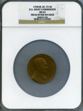 Assay Medals, 1928 U.S. Assay Commission Medal MS65 NGC. JK-AC-72. Edge inscribed Freas Styer.. ...........................................