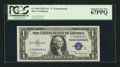 Small Size:Silver Certificates, Fr. 1610 $1 1935A S Silver Certificate. PCGS Superb Gem New 67PPQ.. ...