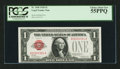 Small Size:Legal Tender Notes, Low Serial Number A00000991A Fr. 1500 $1 1928 Legal Tender Note. PCGS Choice About New 55PPQ.. ...