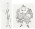 Animation Art:Production Drawing, ParaNorman Puritans Concept Sketch Original Artwork Group (LAIKA, 2012).... (Total: 6 Original Art)