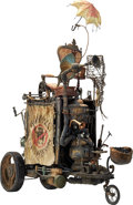 Memorabilia:Movie TV Props, The Boxtrolls Snatcher's Truck Original Animation Prop (LAIKA, 2014)....