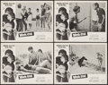 """Movie Posters:Foreign, Weekend (Cinema-Video International, 1962). Lobby Card Set of 4 (11"""" X 14""""). Foreign.. ... (Total: 4 Items)"""