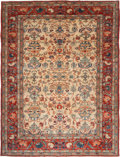 Rugs & Textiles:Carpets, A PERSIAN MAHAL CARPET, circa 1930. 14 feet high x 10 feet wide ....